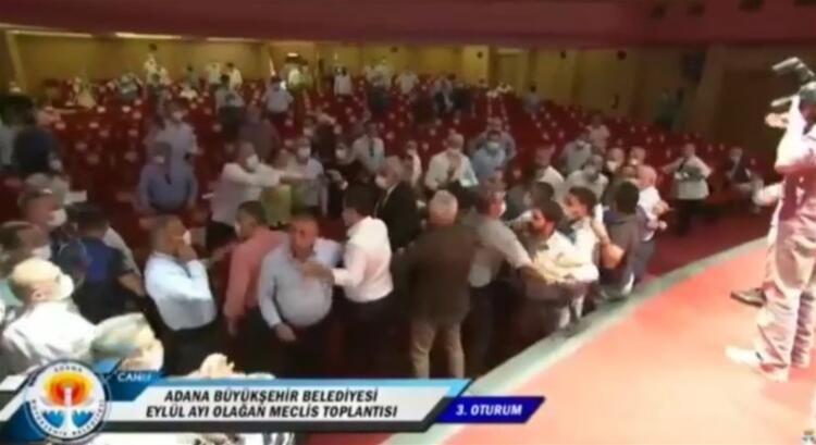 Adana Büyükşehir Belediyesi Meclisi karıştı, MHP'li başkan darp edildi - Sayfa 2