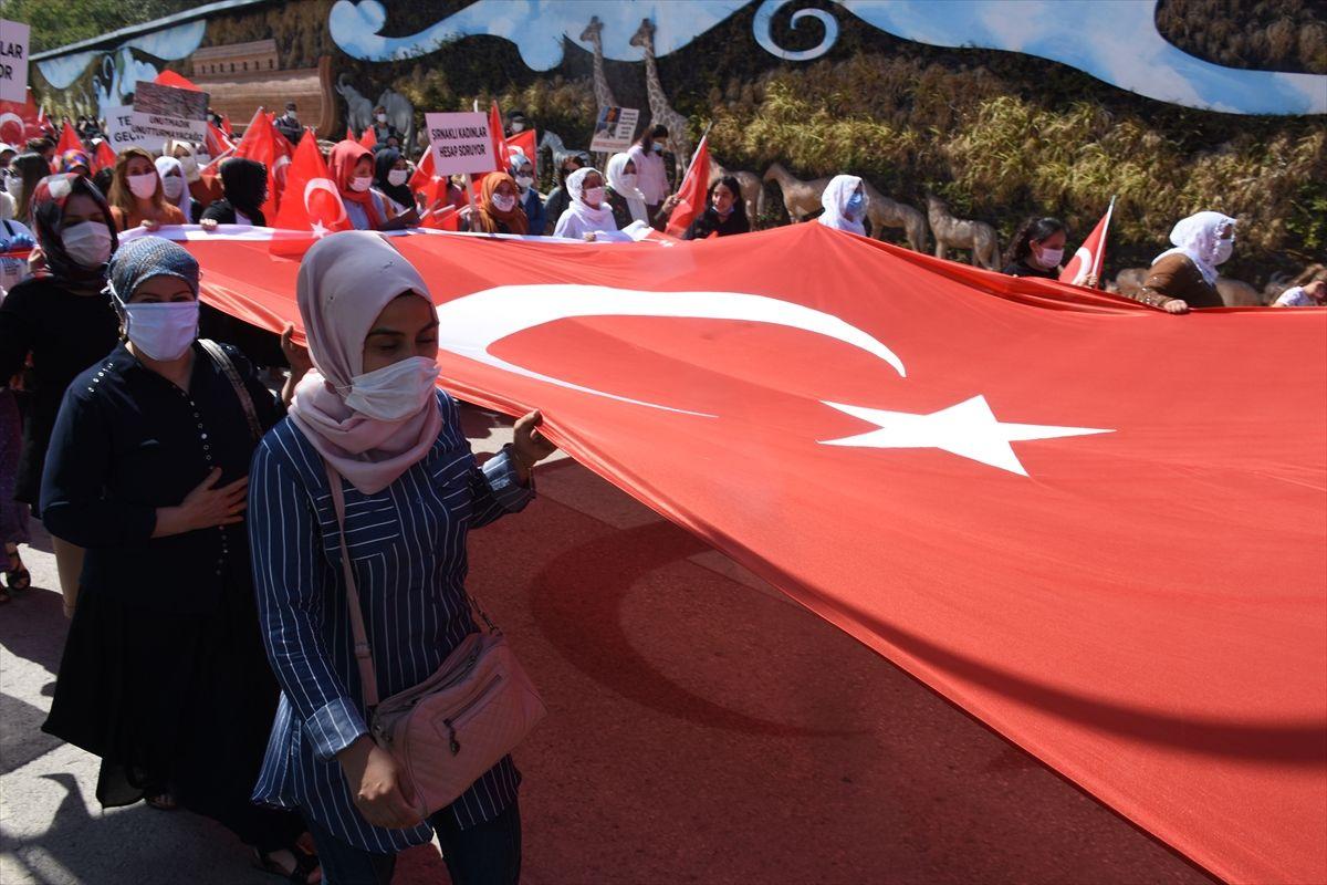 Şırnaklı kadınlar terör örgütüne karşı yürüdü - Sayfa 4