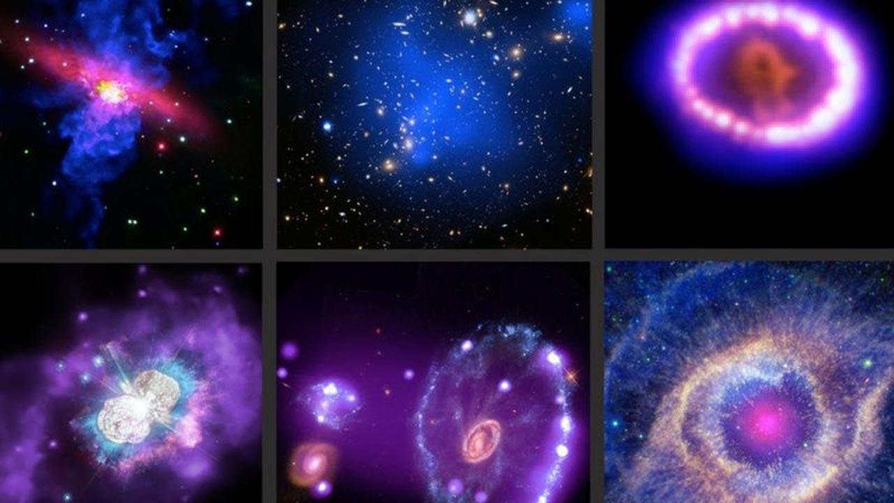 NASA yıldız ve galaksilerin yeni çekilmiş görüntülerini yayınladı