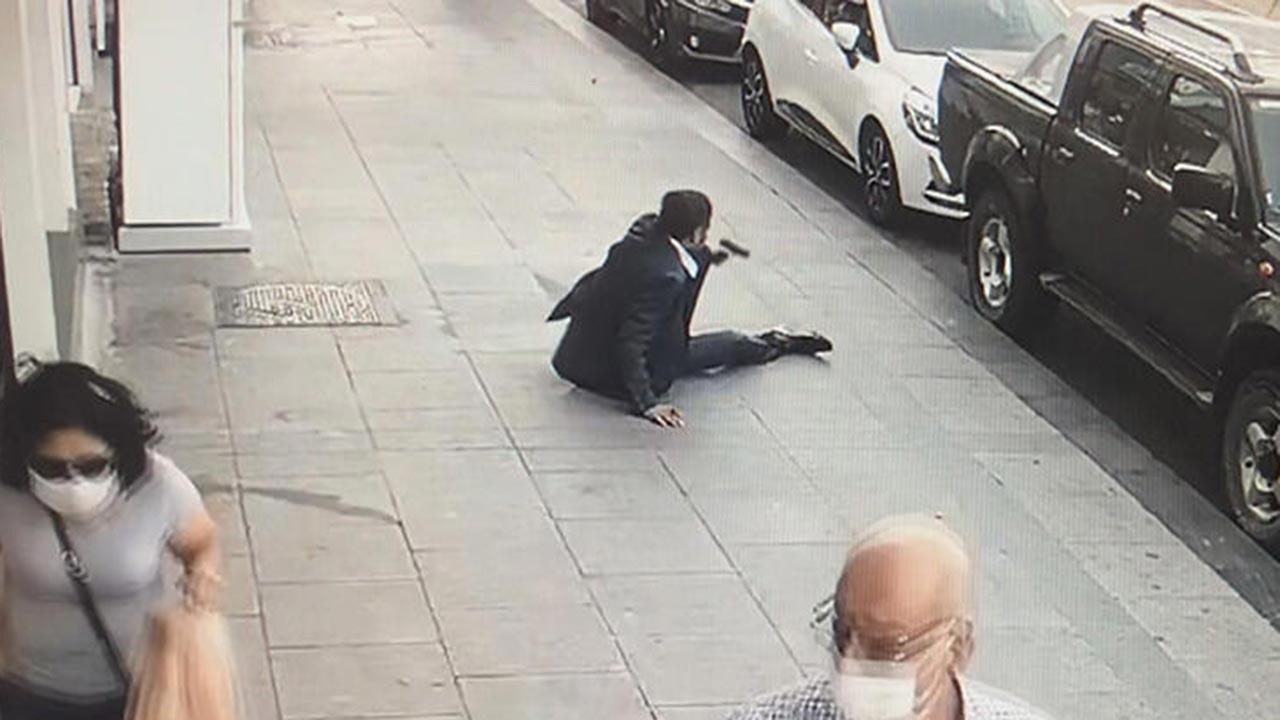 İstanbul'un göbeğinde çatışma anları