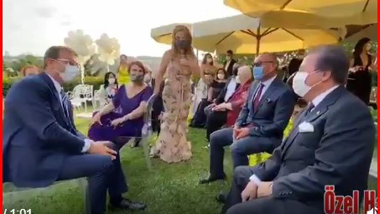 Ortak oldukları ileri sürülen İmamoğlu ile Çağlar nikahta buluştu