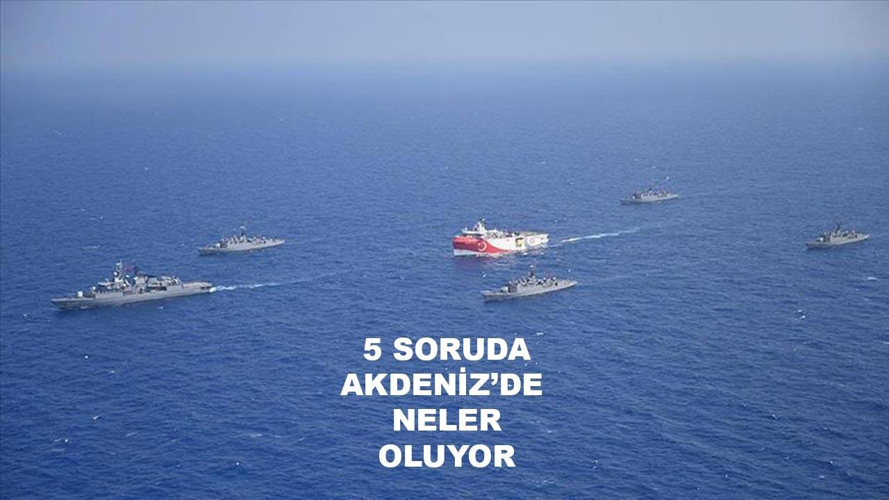 Akdeniz'de neler oluyor?