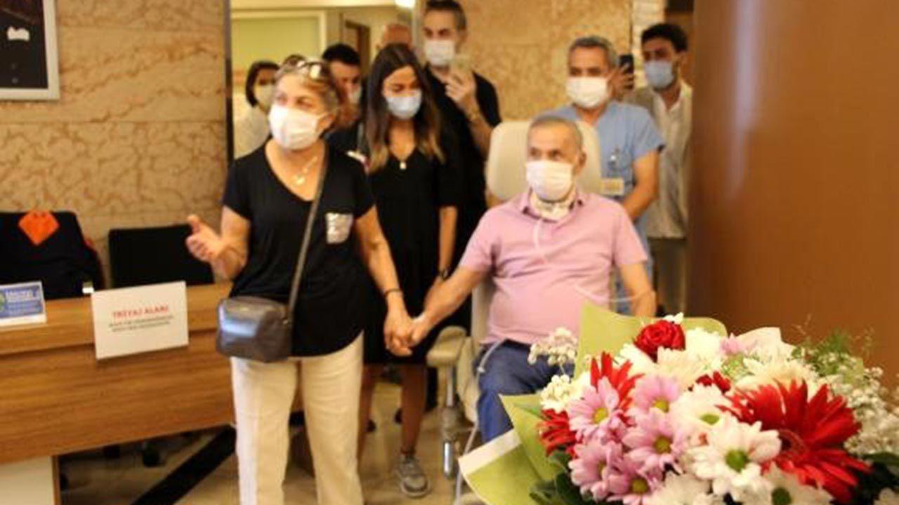 73 yaşındaki ilk korona hastası Peker 4 ay sonra gözlerini açtı - Sayfa 1