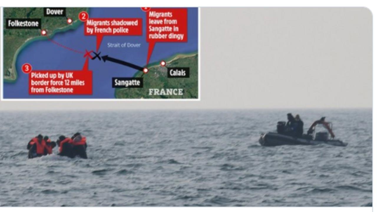 İngiltere ve Fransa arasında 'göçmen' krizi