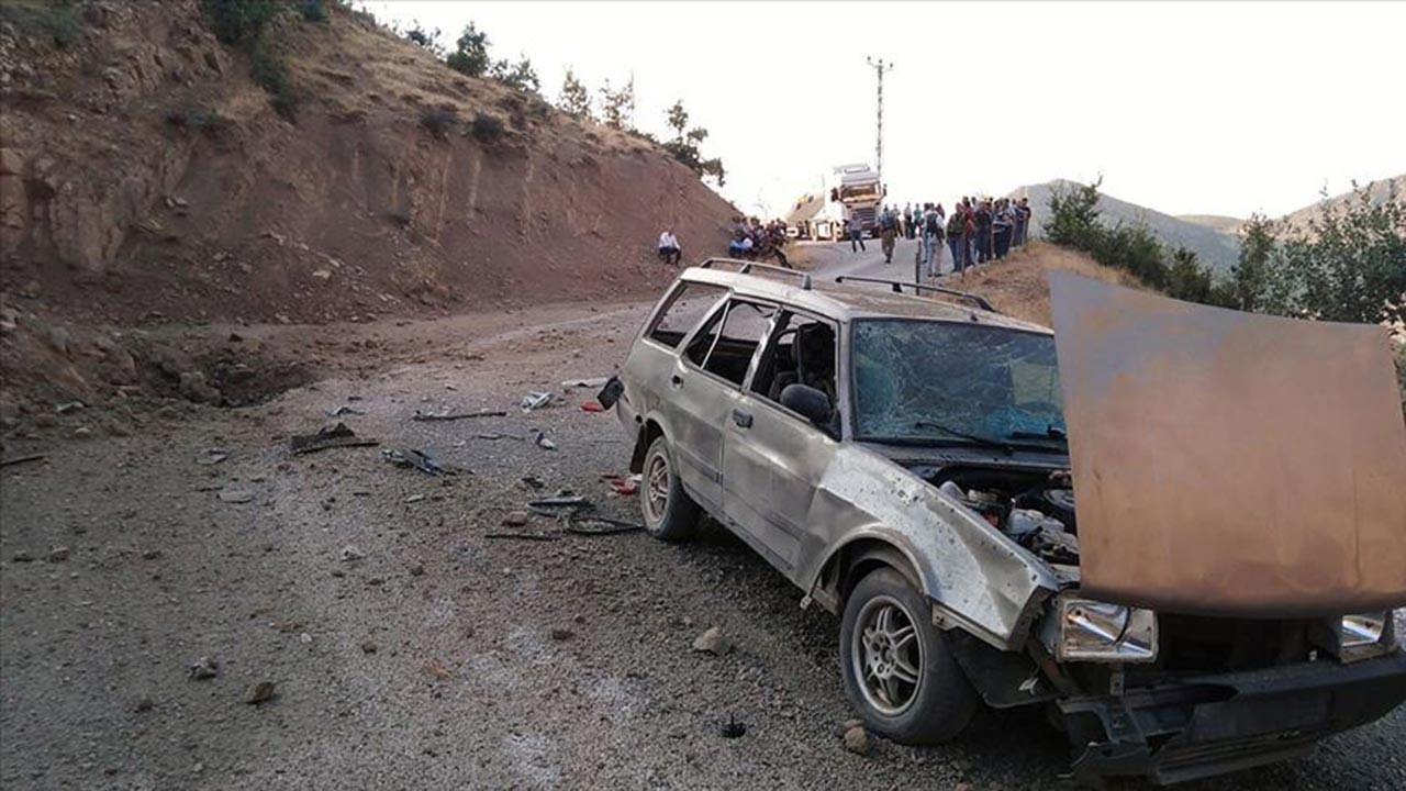 Siirt'te güvenlik korucusuna bombalı saldırı