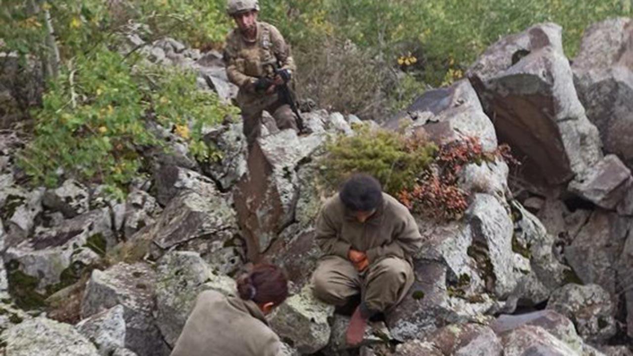 Jandarma 2 teröristi sağ olarak yakaladı