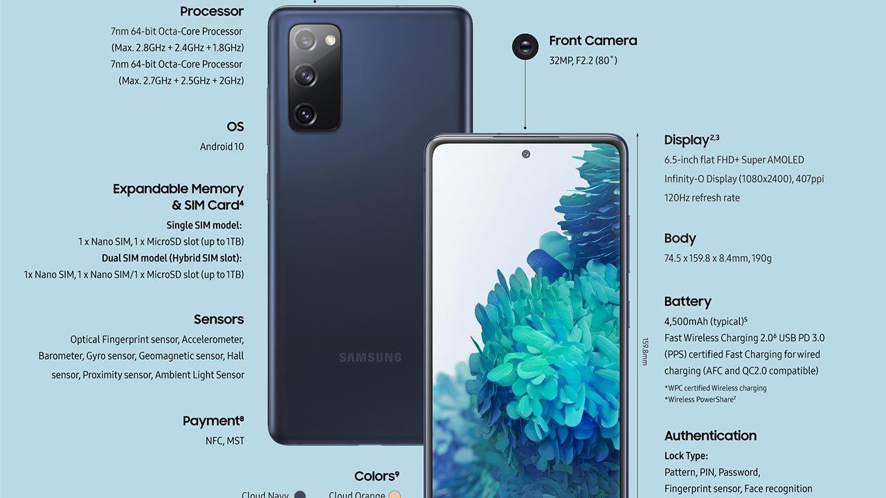 Samsung Galaxy S20 FE özellikleri ve fiyatı - Sayfa 3