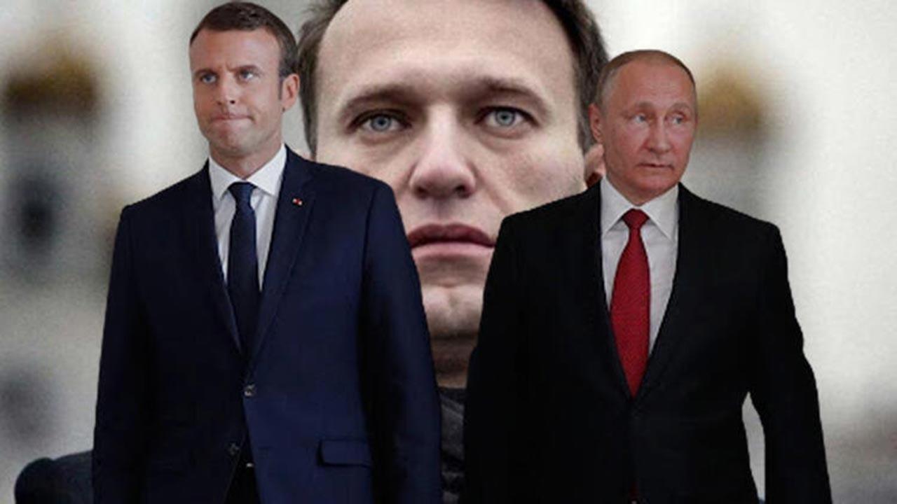 Putin ile Macron'un konuşması sızdı