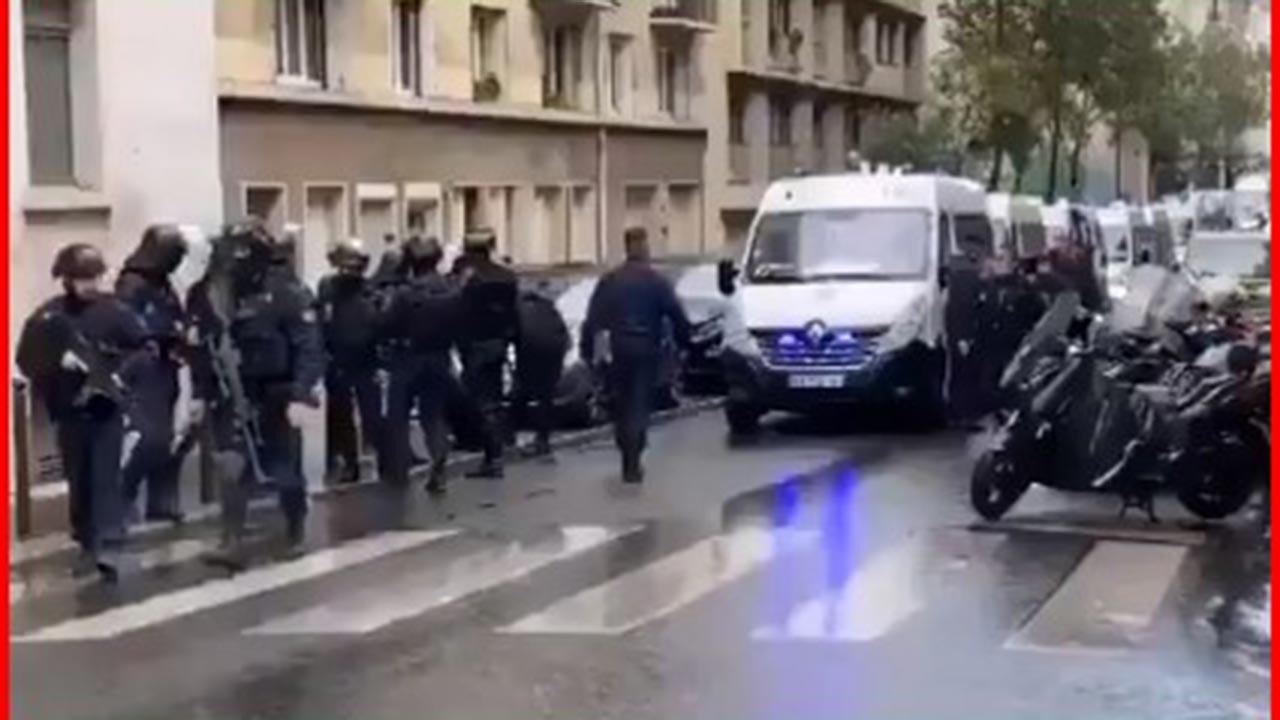 Provokatör derginin yakınlarında bıçaklı saldırı