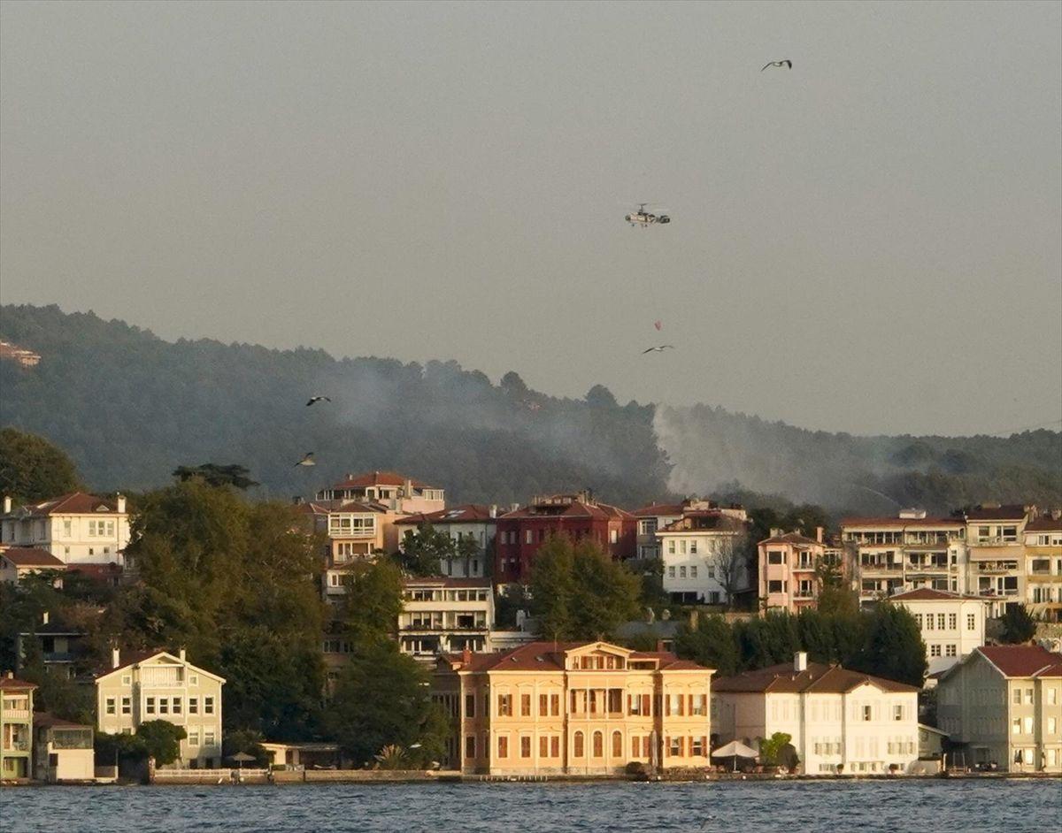 İstanbul Beykoz'da korkutan yangın - Sayfa 1