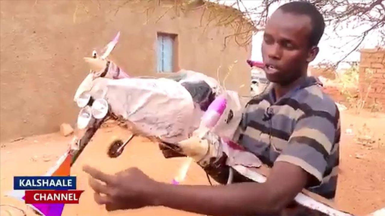 Somalili genç yetenek Türkiye'ye getiriliyor