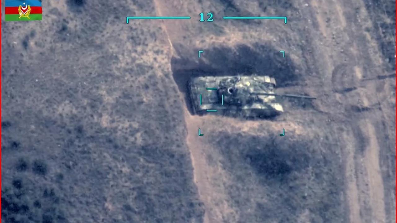 Azerbaycan ordusu yeni görüntüleri paylaştı