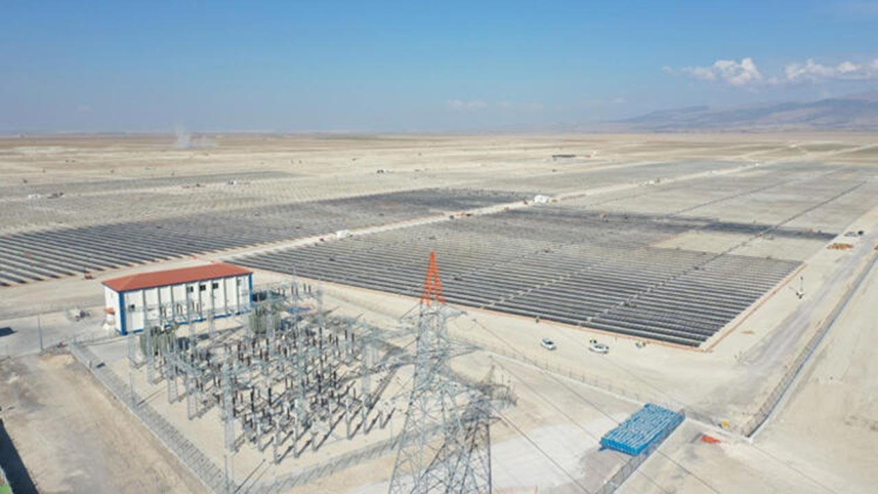 Konya Ovası artık 'Güneşten Elektrik Üretim Ovası'