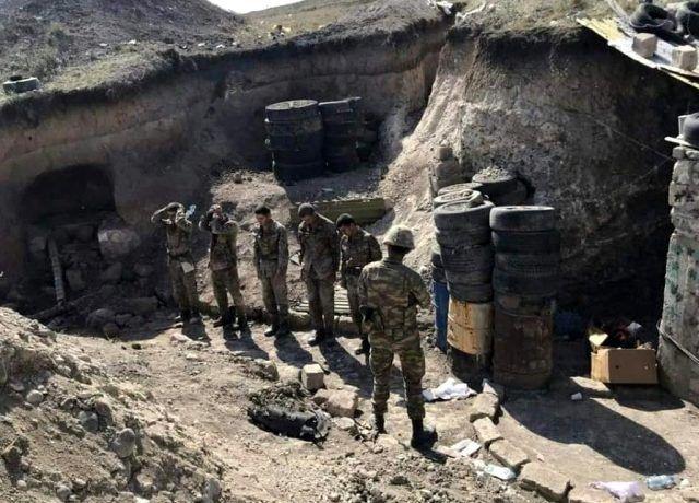 Azerbaycan çok sayıda Ermeni askeri esir aldı - Sayfa 1
