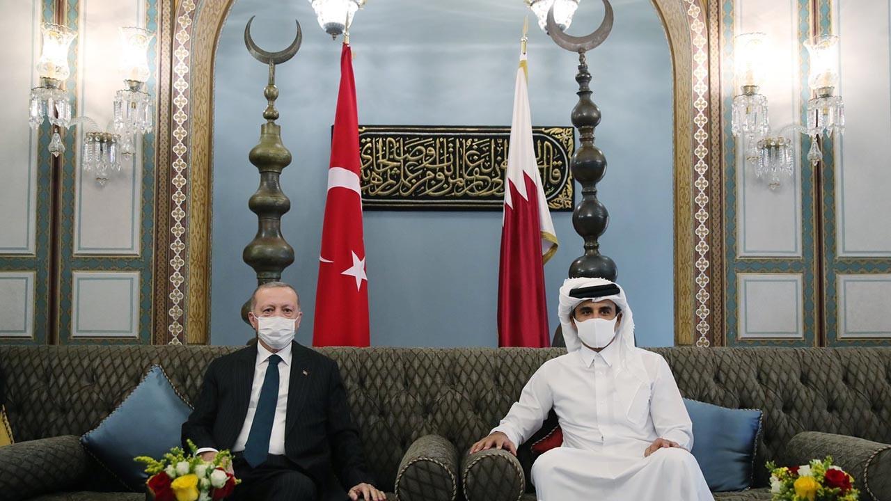 Erdoğan Kuveyt'ten sonra Katar'a geçti