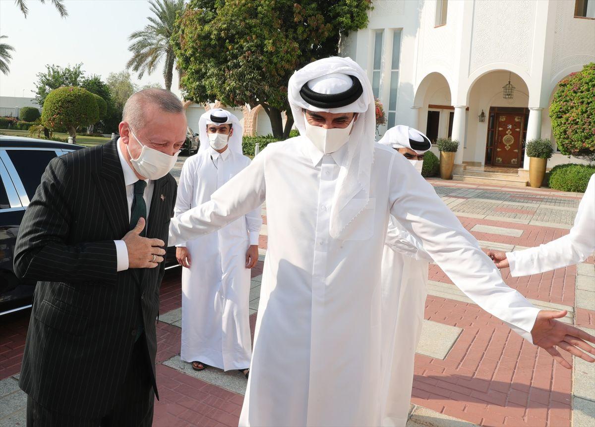 Cumhurbaşkanı Erdoğan'ın Katar ziyareti fotoğrafları - Sayfa 3