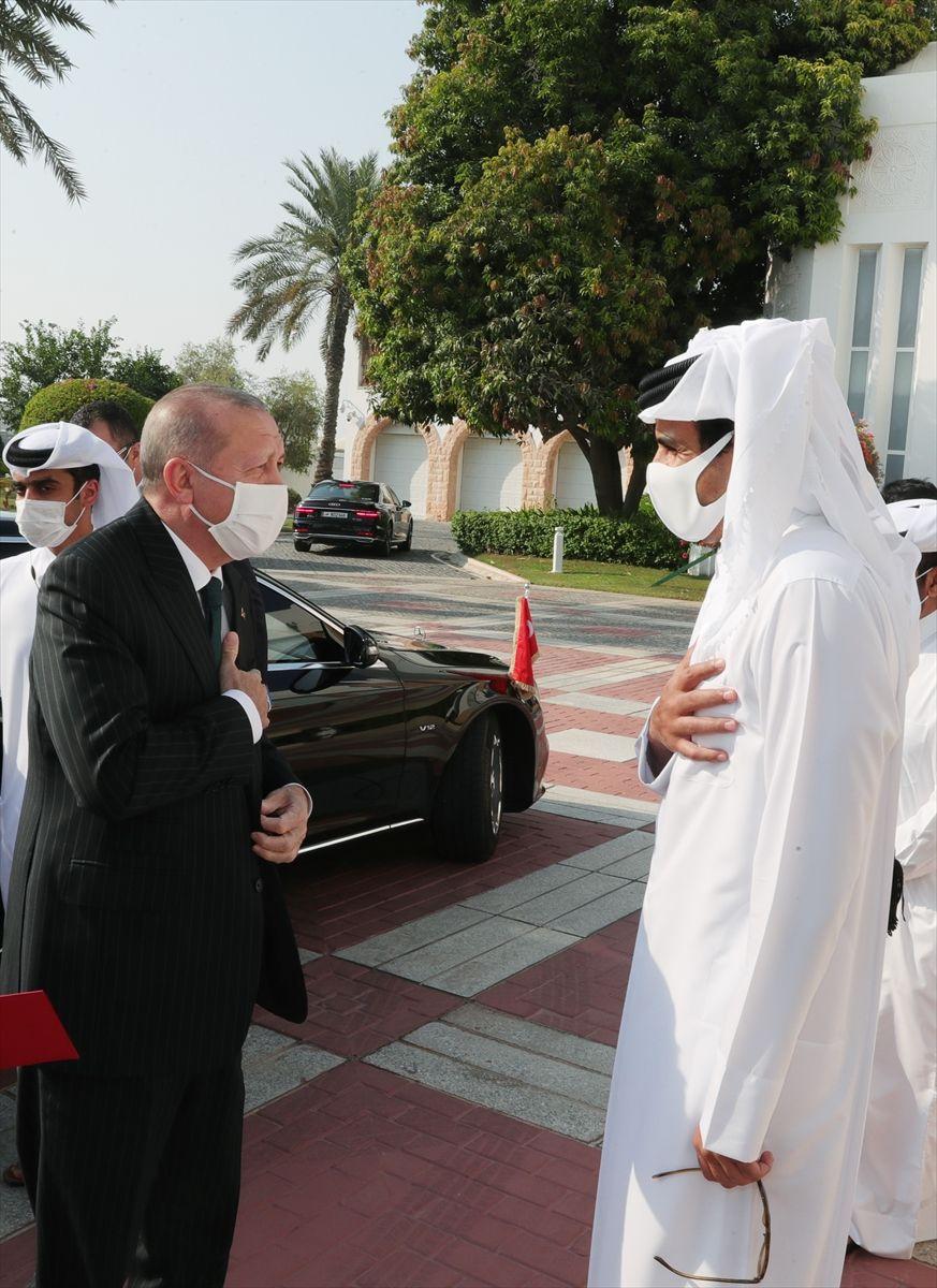 Cumhurbaşkanı Erdoğan'ın Katar ziyareti fotoğrafları - Sayfa 1