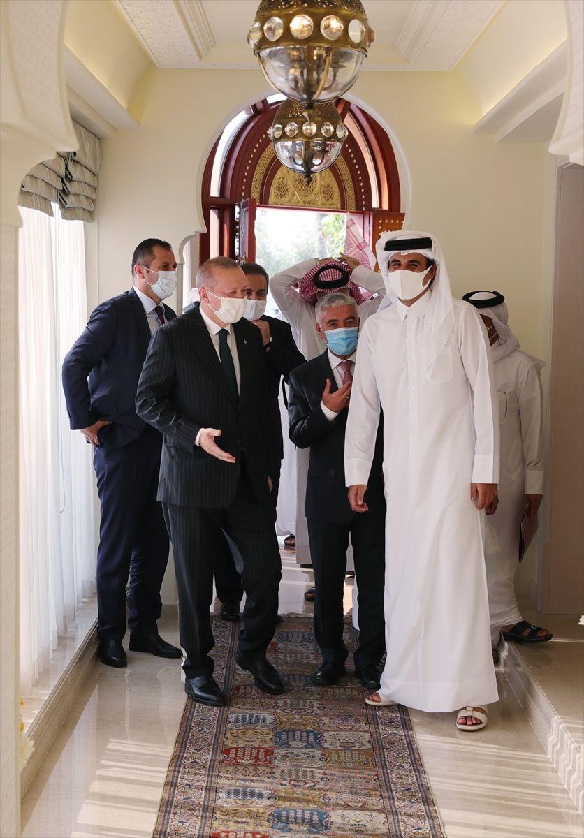 Cumhurbaşkanı Erdoğan'ın Katar ziyareti fotoğrafları - Sayfa 4