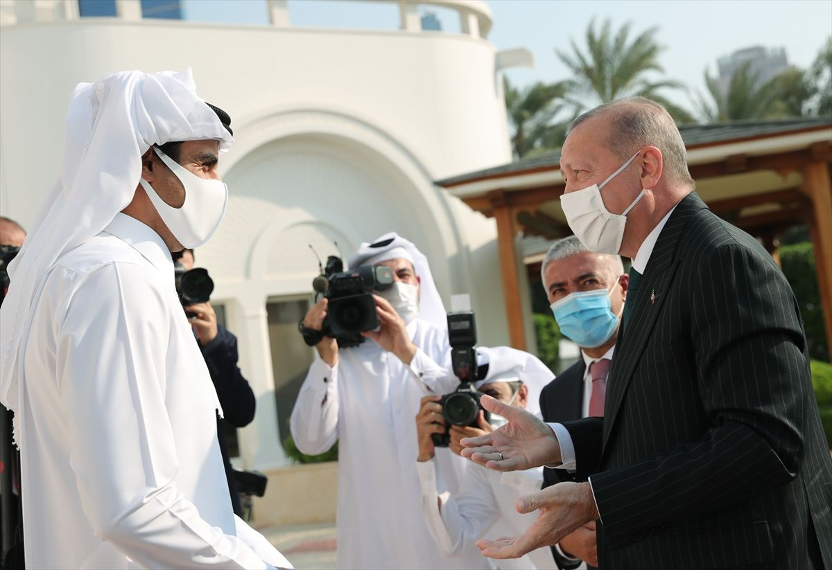Cumhurbaşkanı Erdoğan'ın Katar ziyareti fotoğrafları - Sayfa 2