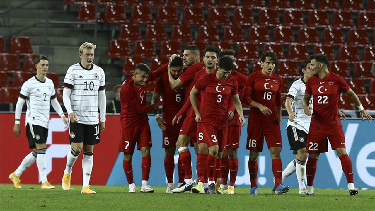 Türkiye - Almanya maçı berabere sonuçlandı