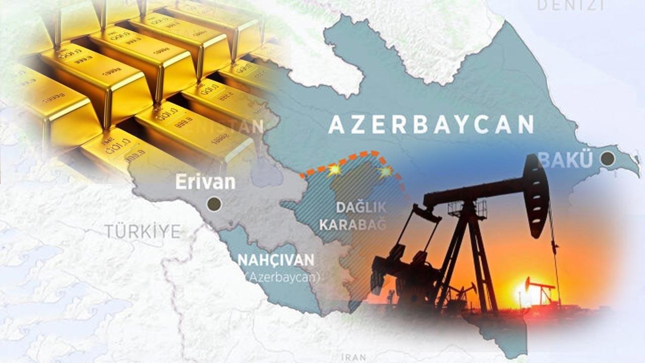 Karabağ petrol ve altın zengini bir bölge