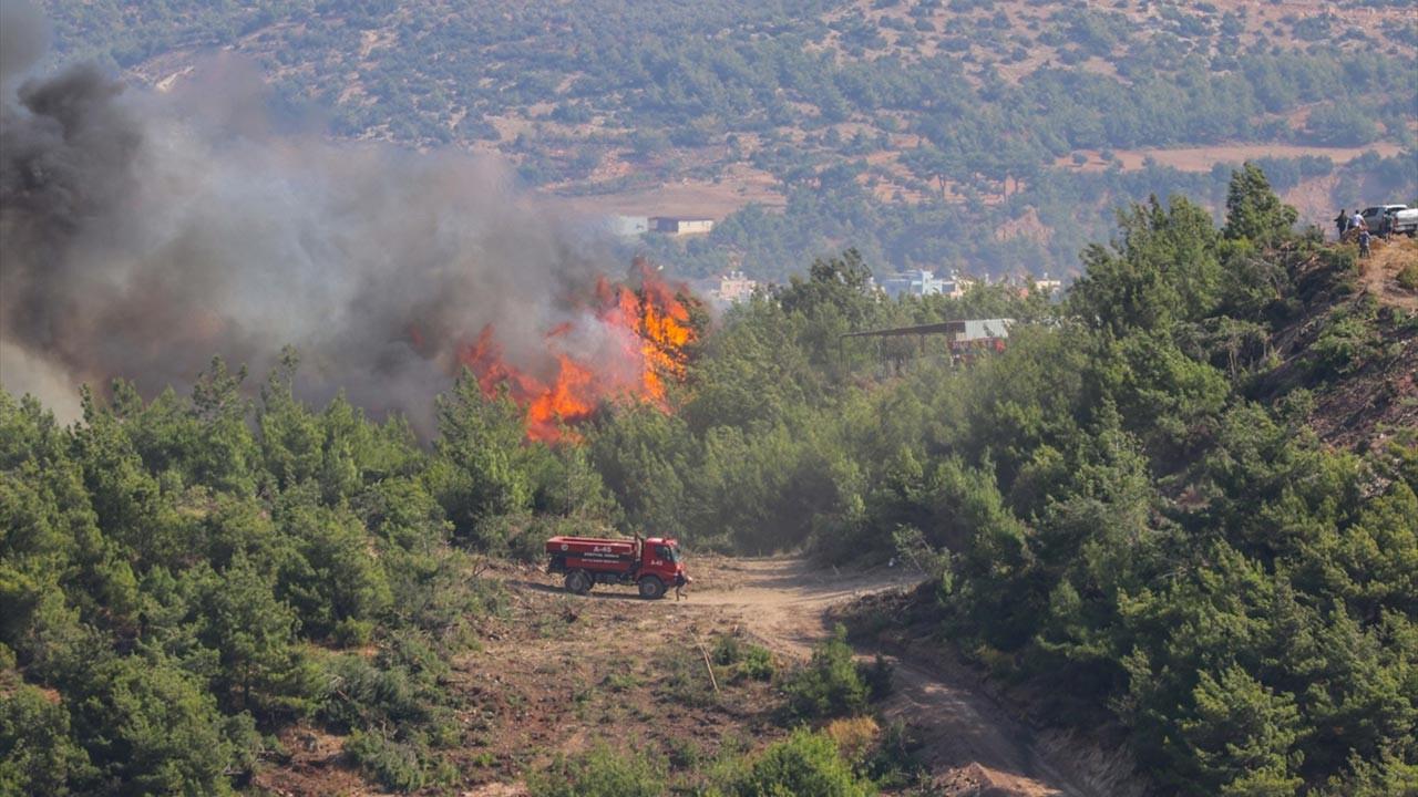Hatay'daki orman yangınında son dakika gelişmesi
