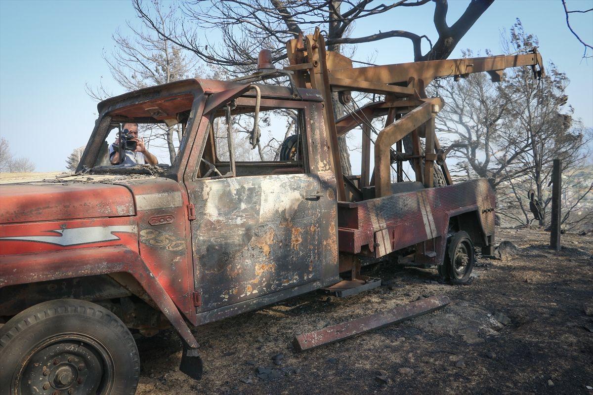 Hatay'daki orman yangınında korkunç manzaralar, alevler binaları bile yutuyor - Sayfa 2