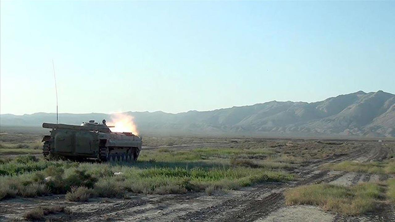 Ermenistan'ın balistik füze sistemleri vuruldu