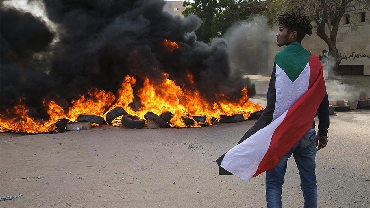Sudan karıştı, ölü ve yaralılar var