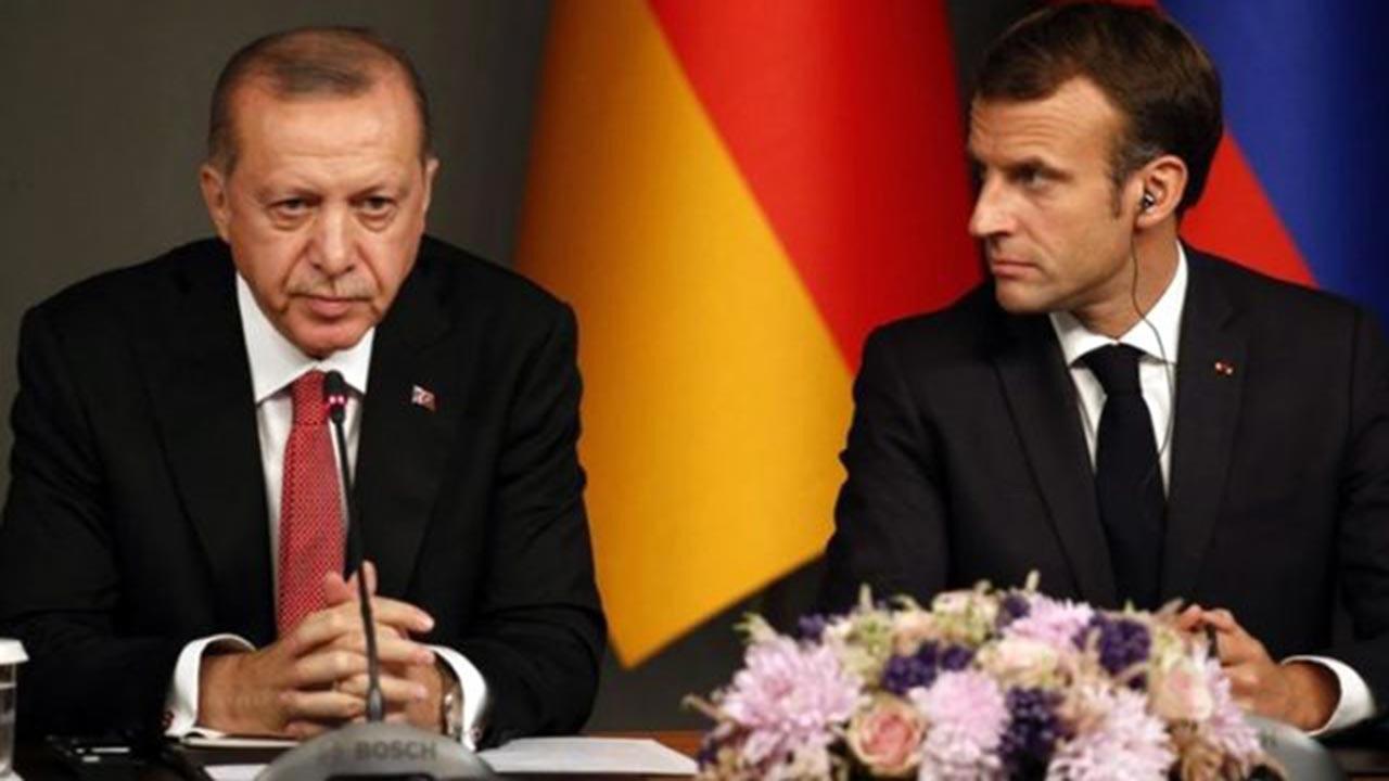 Erdoğan ile Macron arasında kritik görüşme