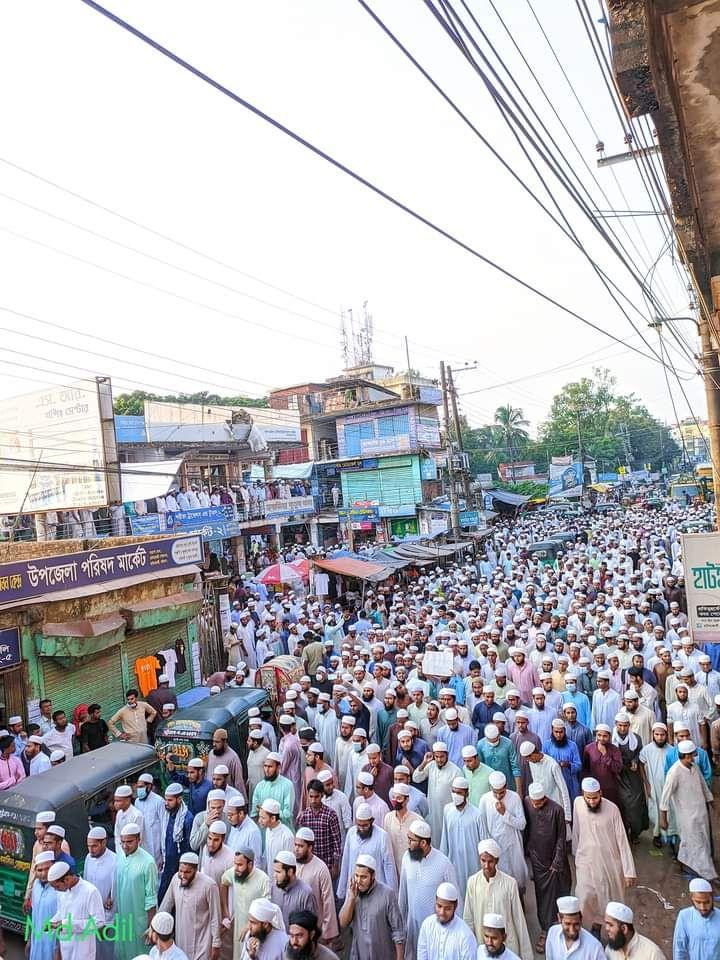Bangladeş'te on binlerce Müslüman Fransa'ya karşı sokaklara döküldü - Sayfa 4