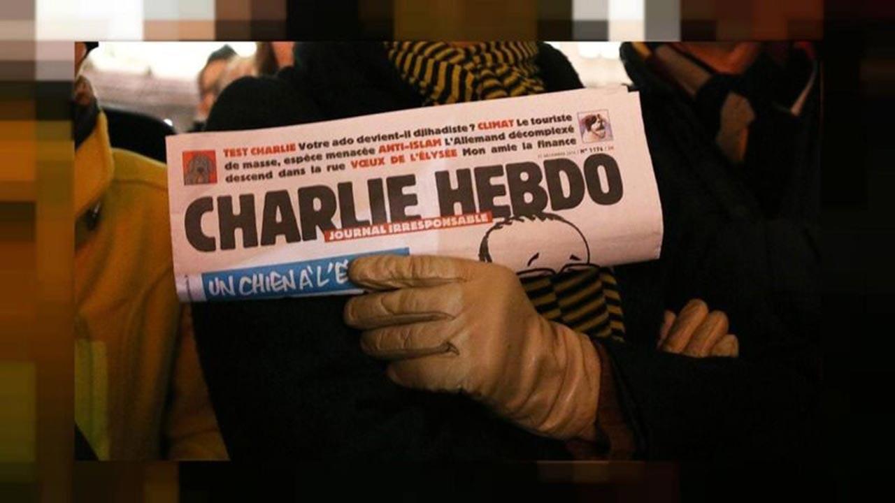 Charlie Hebdo bu kez Erdoğan'a saldırdı