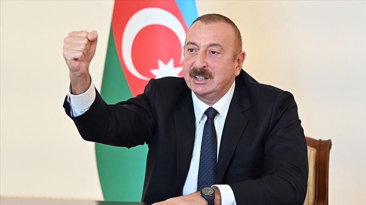 Aliyev'den ilk açıklama