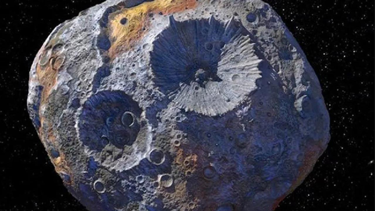 10 kentilyon dolar değerinde asteroid