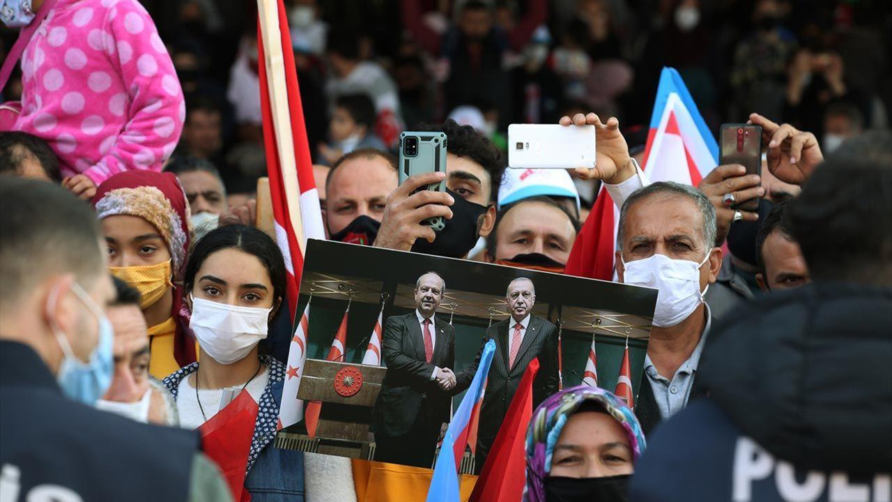 'Maraş Fatihi Erdoğan' pankartlarıyla karşıladılar - Sayfa 2