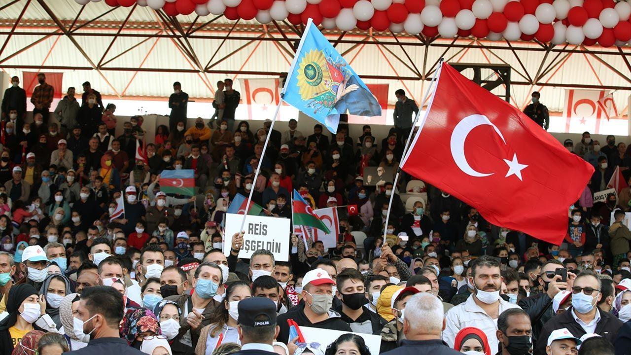 'Maraş Fatihi Erdoğan' pankartlarıyla karşıladılar - Sayfa 3