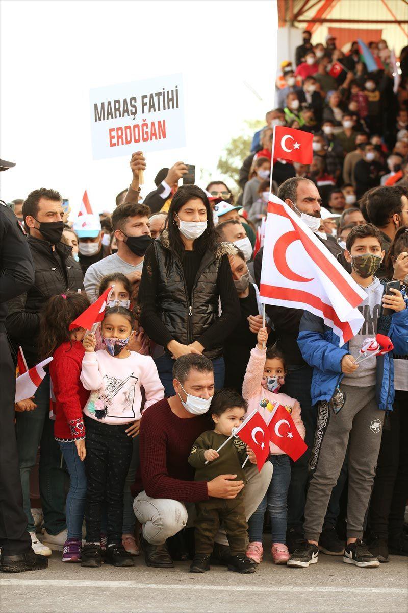'Maraş Fatihi Erdoğan' pankartlarıyla karşıladılar - Sayfa 4