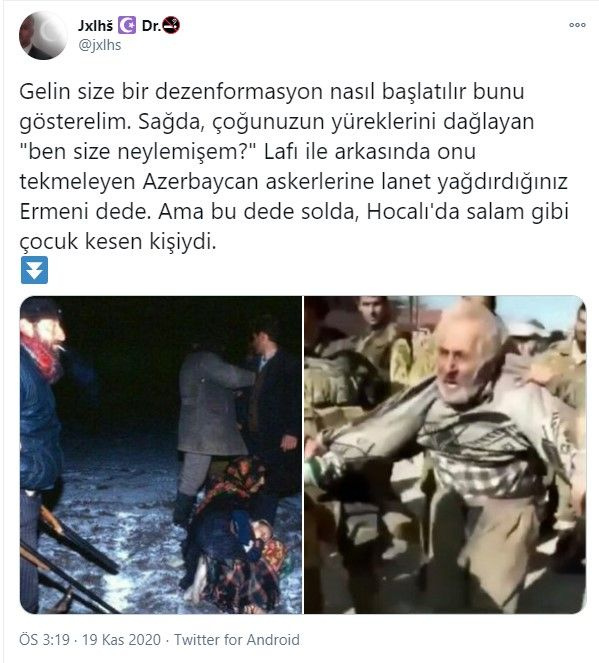 Yaşlı ve masum Ermeni sivil bakın kim çıktı - Sayfa 1