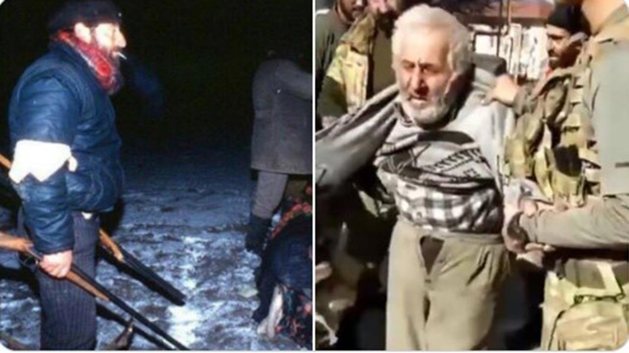 Yaşlı ve masum Ermeni sivil bakın kim çıktı