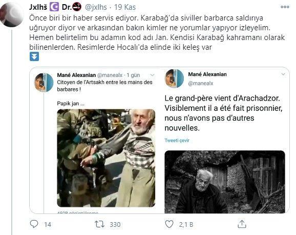 Yaşlı ve masum Ermeni sivil bakın kim çıktı - Sayfa 4