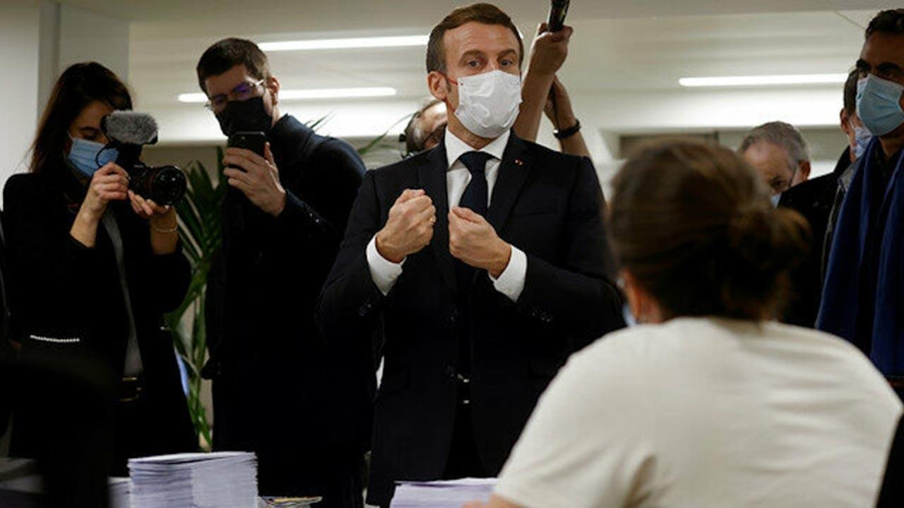 Macron da sonunda kabullendi