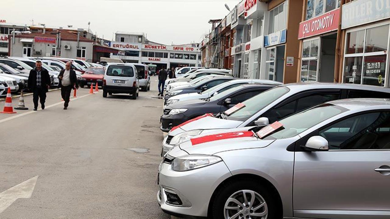 İkinci el araç satışlarında sert düşüş