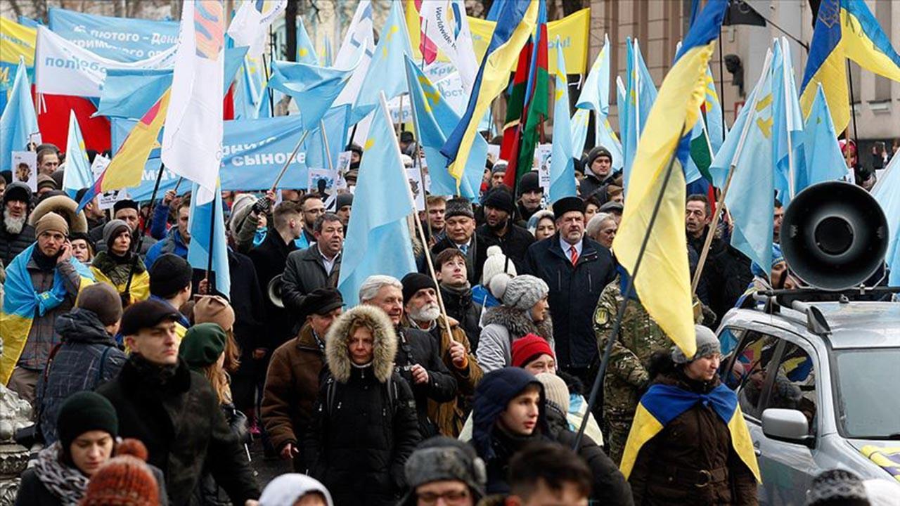 Kırımlıları askere almaya başlayan Rusya'ya tepki