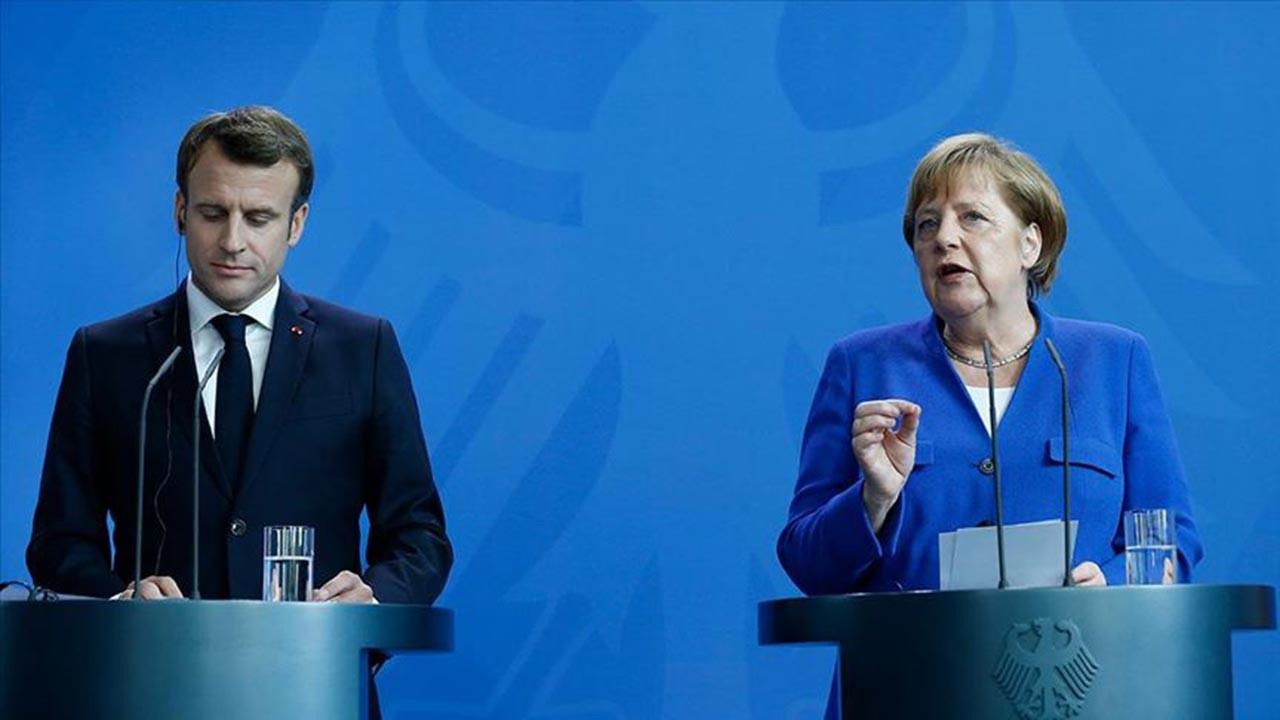 Merkel ve Macron AB'nin Türkiye kararını açıkladı