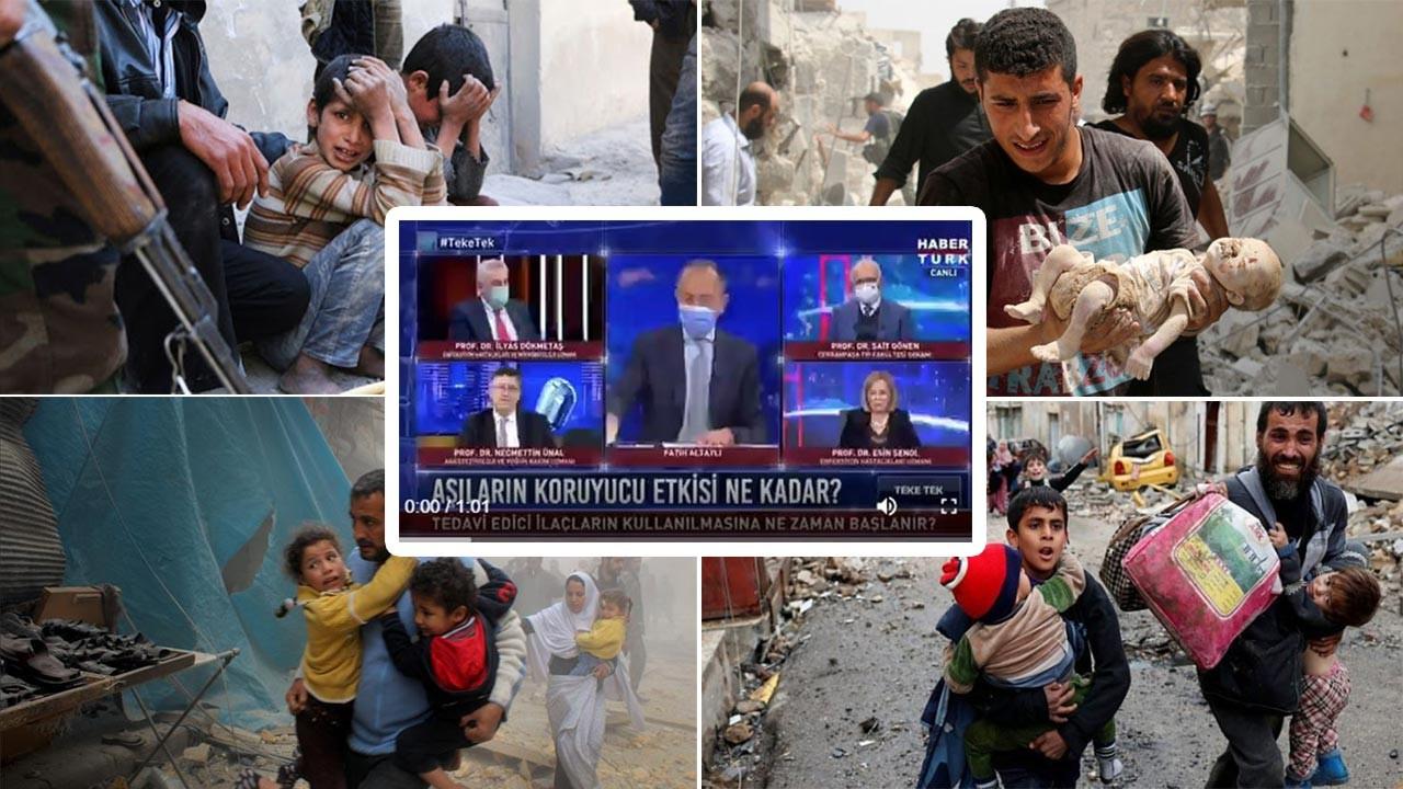 Fatih Altaylı Suriyeli savaş mağdurlarına kin kustu