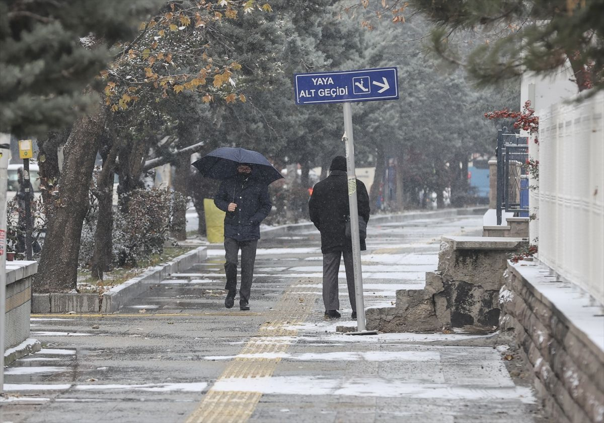 Ankara güne karla uyandı - Sayfa 2