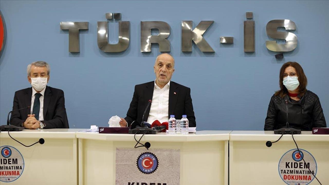 Türk-İş asgari ücret önerisini son gün açıkladı