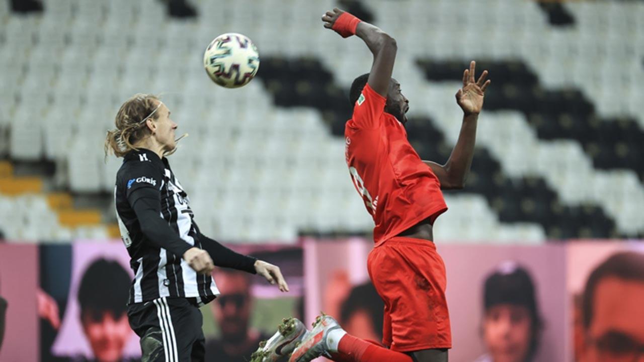 Beşiktaş ligde ikinci sıraya yükseldi