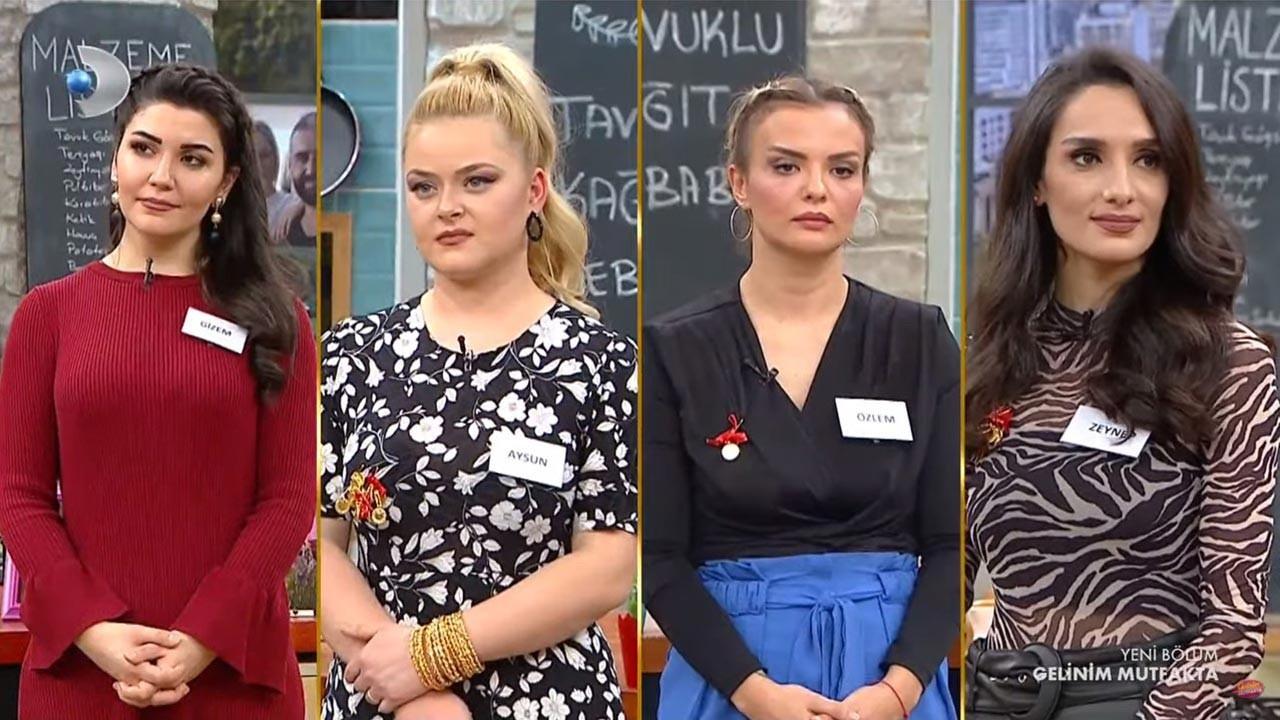 Gelinim Mutfakta bugün 6 Ocak kim birinci oldu?