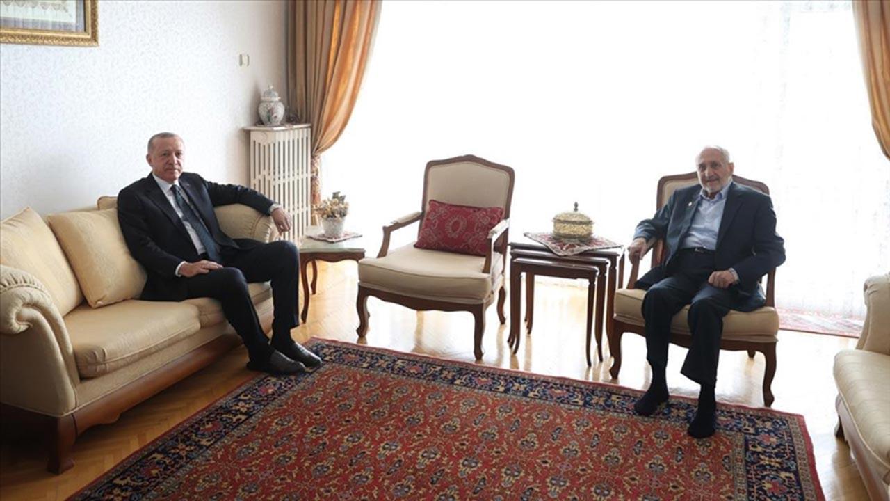 Erdoğan'dan Oğuzhan Asiltürk'e ziyaret